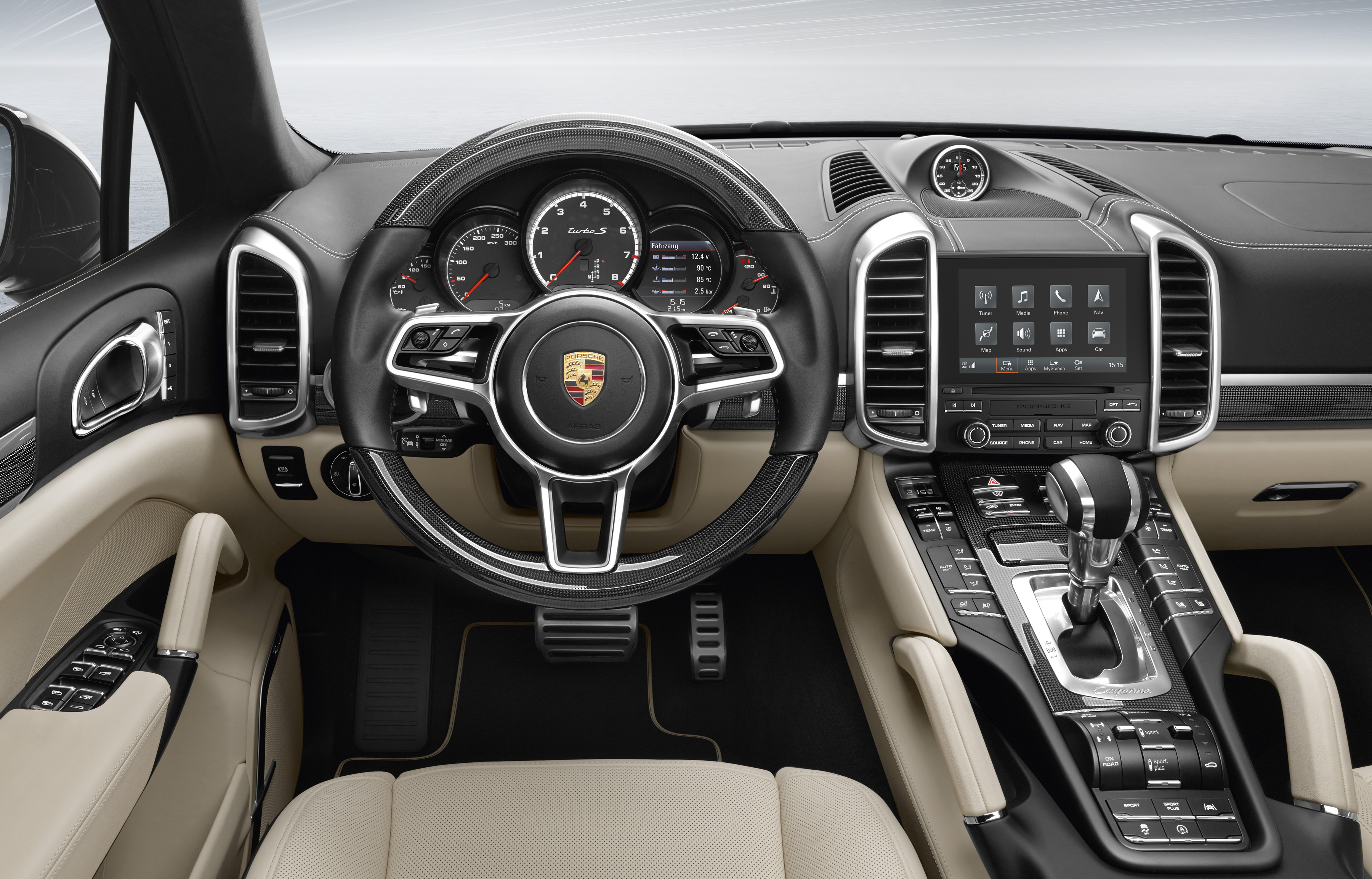 New model year cutting edge infotainment in the cayenne and new new model year cutting edge infotainment in the cayenne and new engine for the macan entry level model with turbocharged four cylinder engine porsche sciox Image collections