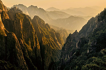 The yellow mountains